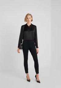 Polo Ralph Lauren - STRUCTURED - Leggings - collection black - 1
