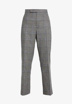 Pantalones - glen plaid