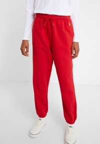 Polo Ralph Lauren - SEASONAL  - Pantaloni sportivi - red - 0