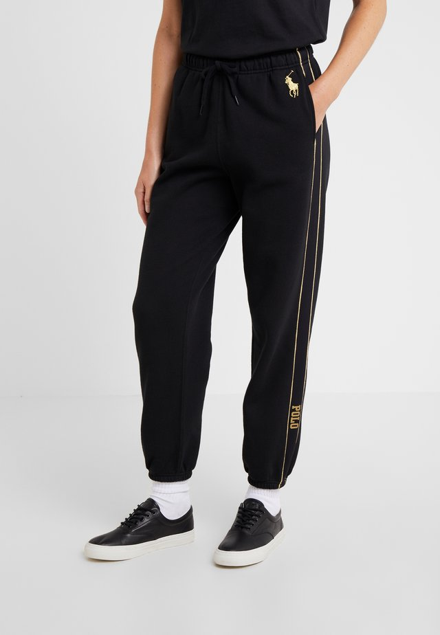 SEASONAL  - Pantalones deportivos - black
