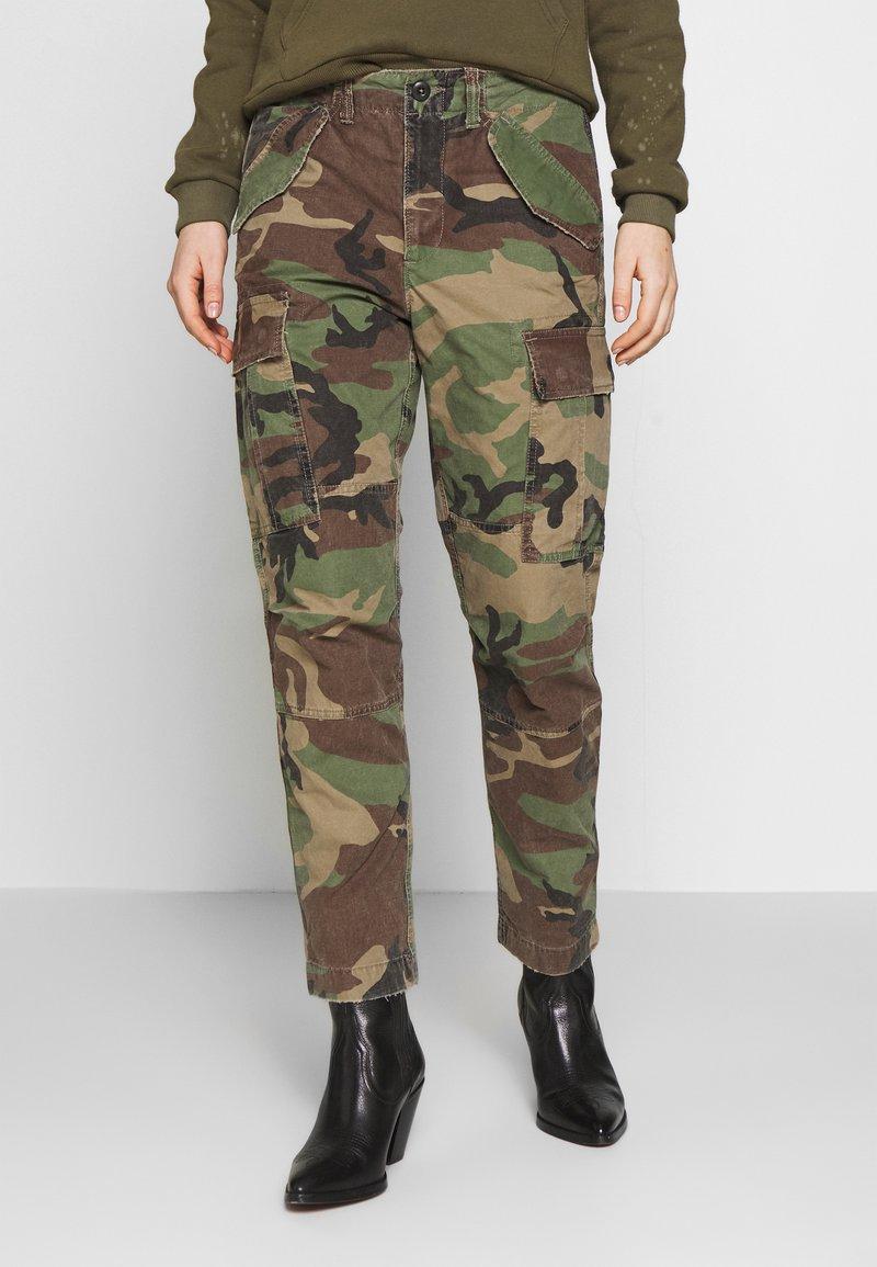 Polo Ralph Lauren - CARGO-PANT - Pantaloni cargo - camo multi