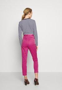 Polo Ralph Lauren - SLIM LEG PANT - Pantaloni - college pink - 2