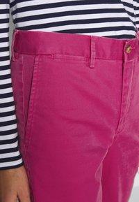 Polo Ralph Lauren - SLIM LEG PANT - Pantaloni - college pink - 4