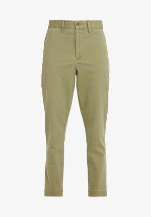 SLIM LEG PANT - Bukse - spanish green