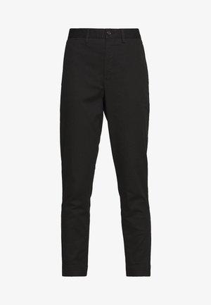 SLIM LEG PANT - Pantalon classique - black