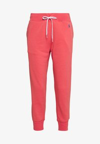 Polo Ralph Lauren - FEATHERWEIGHT - Tracksuit bottoms - amalfi red - 0
