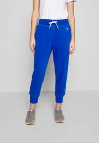 Polo Ralph Lauren - FEATHERWEIGHT - Tracksuit bottoms - heritage blue - 0