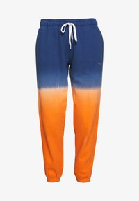 Polo Ralph Lauren - ANKLE PANT - Pantaloni sportivi - navy/orange ombre - 4