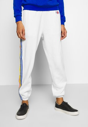 SEASONAL - Tracksuit bottoms - deckwash white