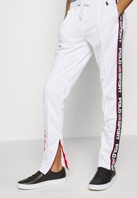 Polo Ralph Lauren - TRICOT - Teplákové kalhoty - white - 4