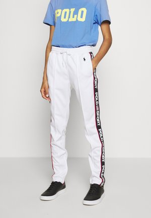 TRICOT - Tracksuit bottoms - white