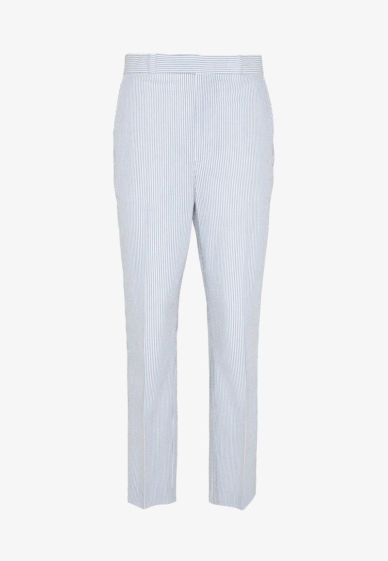 Polo Ralph Lauren - SEERSUCKER - Bukse - blue/white