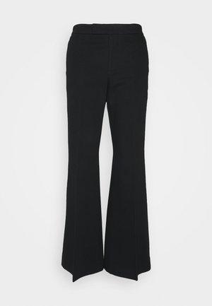 RELAXED WIDE LEG PANT - Broek - black