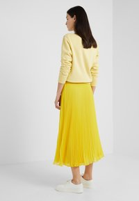 Polo Ralph Lauren - PLEATED - A-line skirt - lemon rind - 2