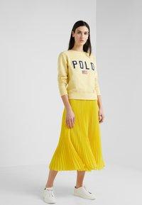Polo Ralph Lauren - PLEATED - A-line skirt - lemon rind - 1