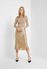 Polo Ralph Lauren - AMLA SK-SKIRT - Áčková sukně - montana khaki - 1
