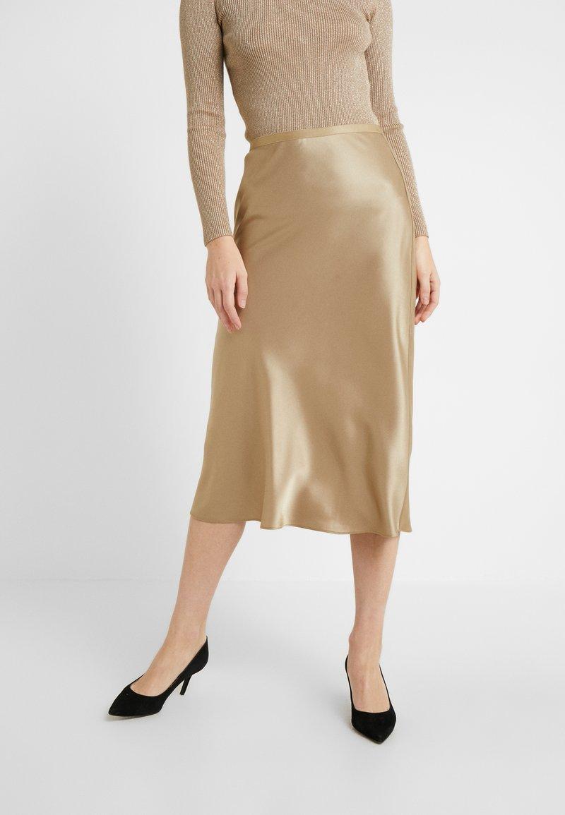 Polo Ralph Lauren - AMLA SK-SKIRT - Áčková sukně - montana khaki