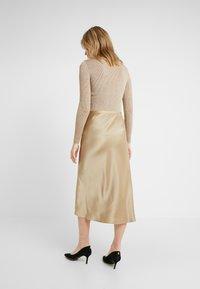 Polo Ralph Lauren - AMLA SK-SKIRT - Áčková sukně - montana khaki - 2