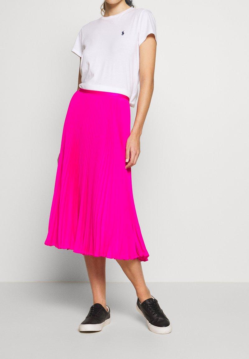 Polo Ralph Lauren - SKIRT - A-lijn rok - blaze hot magenta