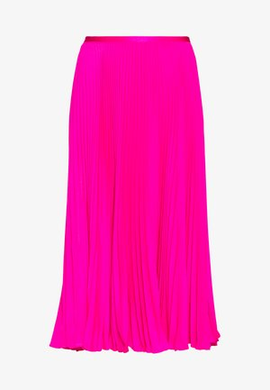 SKIRT - Gonna a campana - blaze hot magenta