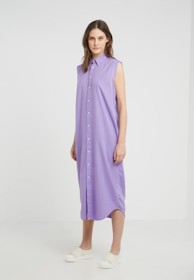 LAUNDERED OXFORD - Vestido largo - martin purple