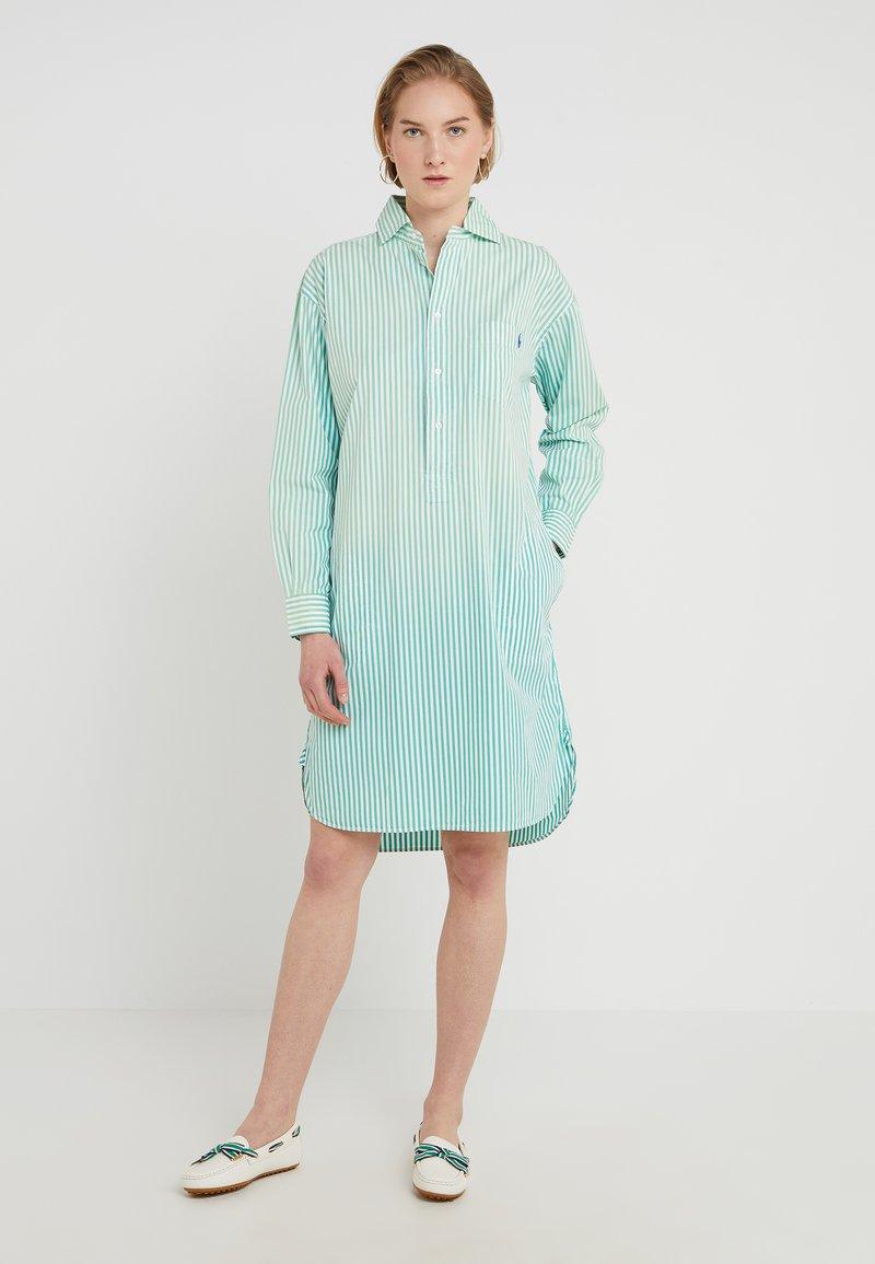 Polo Ralph Lauren - SUNFADE STRIPES - Sukienka koszulowa - seafoam green