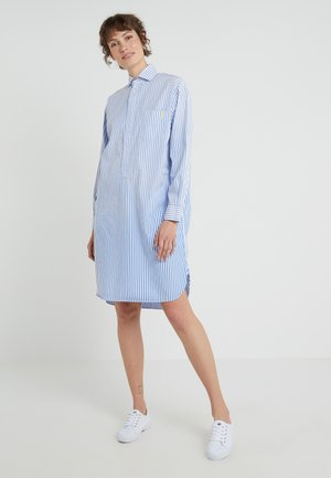 SUNFADE STRIPES - Blousejurk - blue/white