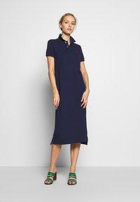 Polo Ralph Lauren - CASUAL DRESS - Day dress - cruise navy - 1