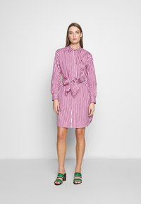 Polo Ralph Lauren - Day dress - pink/white - 1