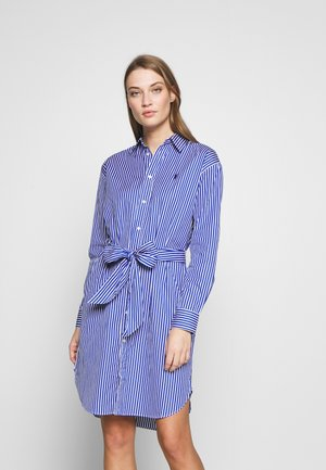Vestido informal - blue/white