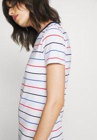 Polo Ralph Lauren - SHORT SLEEVE CASUAL DRESS - Jersey dress - white multi - 3