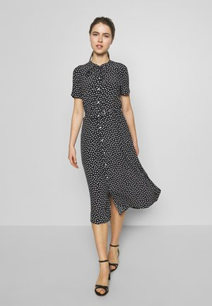 SHORT SLEEVE CASUAL DRESS - Robe chemise - spring polka