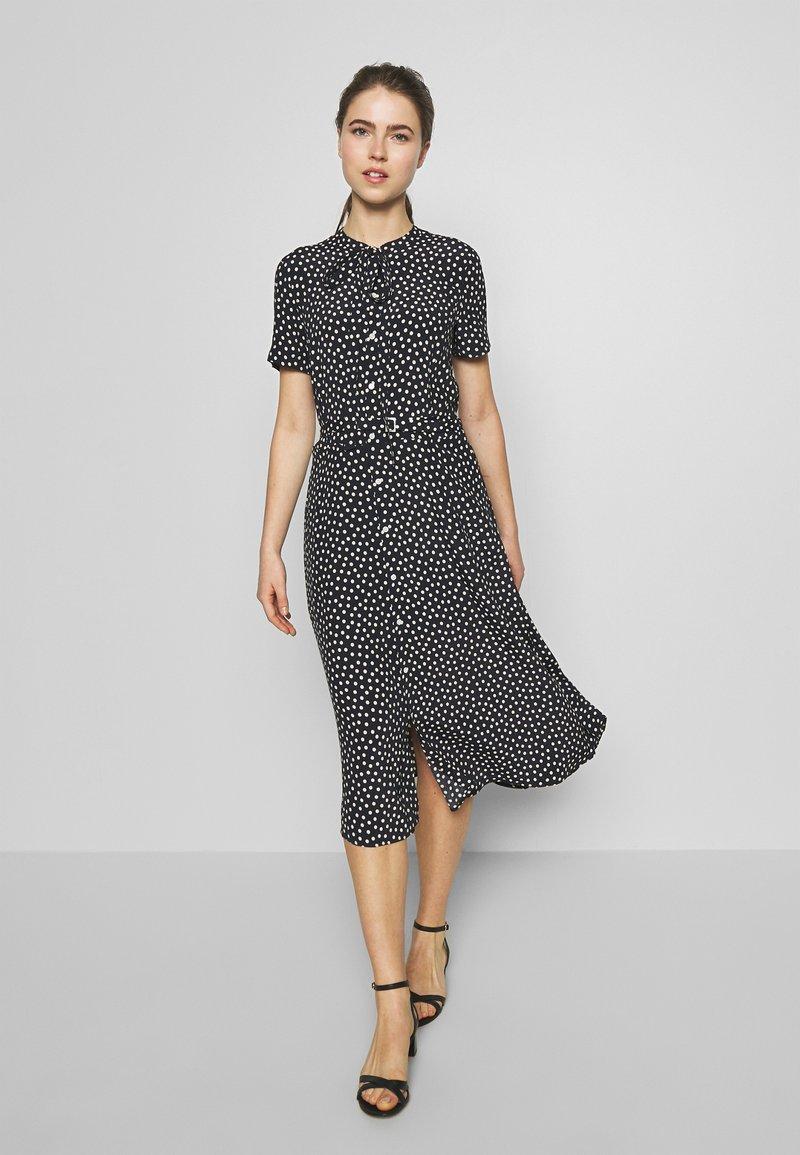 Polo Ralph Lauren - SHORT SLEEVE CASUAL DRESS - Shirt dress - spring polka
