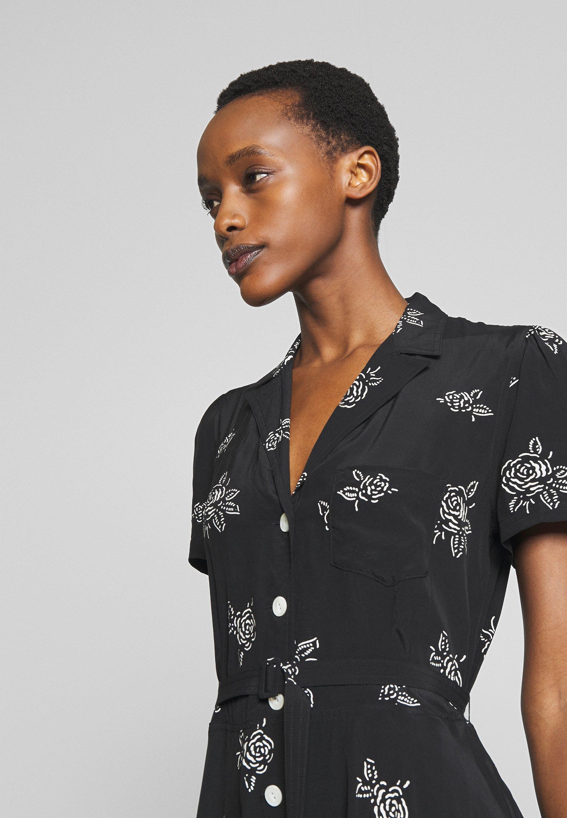 Polo Ralph Lauren Short Sleeve Casual Dress - Day Black