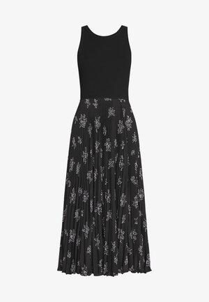 SLEEVELESS CASUAL DRESS - Denní šaty - black rose floral