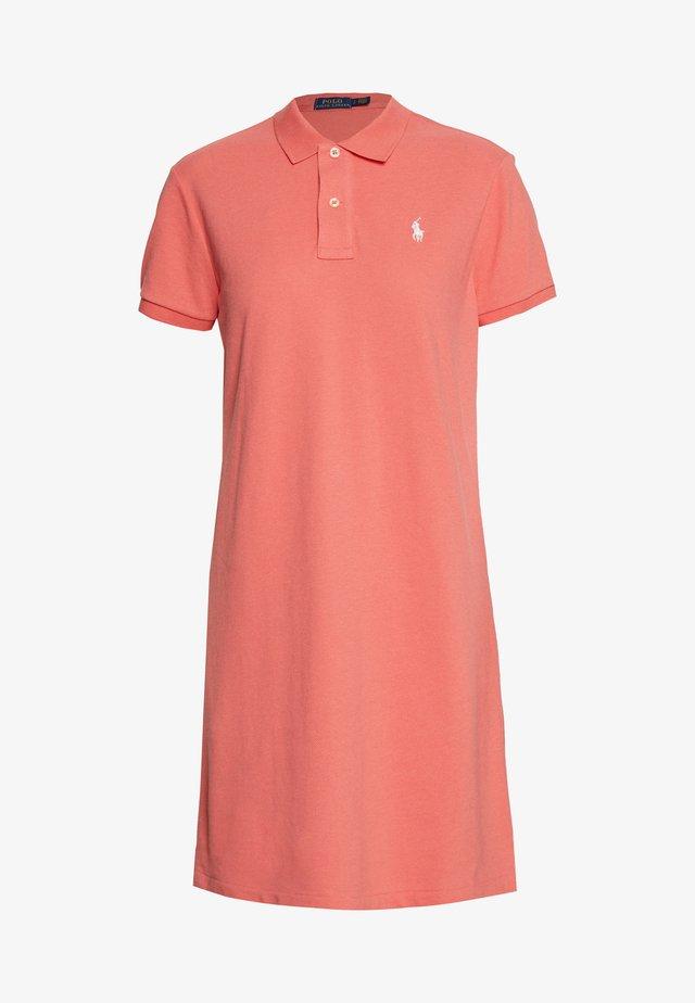 SHORT SLEEVE CASUAL DRESS - Vestido informal - amalfi red