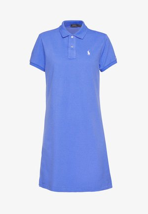 SHORT SLEEVE CASUAL DRESS - Day dress - light blue