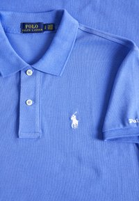 Polo Ralph Lauren - SHORT SLEEVE CASUAL DRESS - Sukienka letnia - light blue - 2