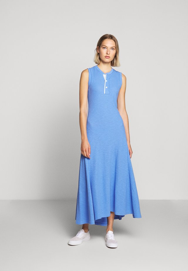 ROWIE SLEEVELESS CASUAL DRESS - Jerseyjurk - harbor island blu