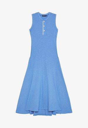 ROWIE SLEEVELESS CASUAL DRESS - Trikoomekko - harbor island blu