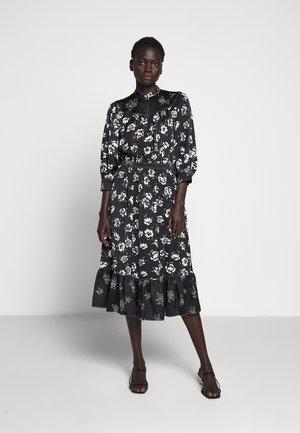 CASUAL DRESS - Day dress - black/white