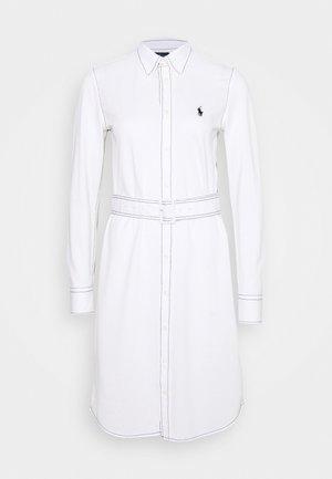 HEIDI LONG SLEEVE CASUAL DRESS - Vestito estivo - white