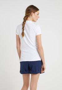 Polo Ralph Lauren - JULIE SHORT SLEEVE SLIM FIT - Polo shirt - white - 2