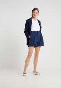 Polo Ralph Lauren - JULIE SHORT SLEEVE SLIM FIT - Polo shirt - white - 1
