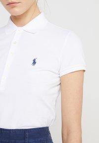 Polo Ralph Lauren - JULIE SHORT SLEEVE SLIM FIT - Polo shirt - white - 4