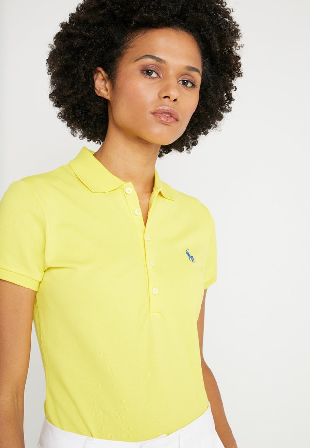 JULIE SHORT SLEEVE SLIM FIT - Polo - lemon crush
