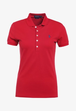 JULIE SHORT SLEEVE SLIM FIT - Poloshirt - red/navy