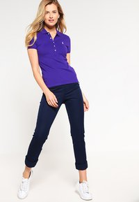 Polo Ralph Lauren - JULIE SHORT SLEEVE SLIM FIT - Polo - chalet purple - 1