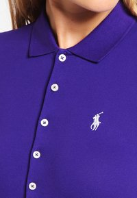 Polo Ralph Lauren - JULIE SHORT SLEEVE SLIM FIT - Polo - chalet purple - 3
