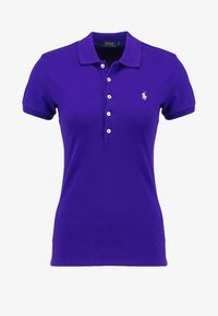 Polo Ralph Lauren - JULIE SHORT SLEEVE SLIM FIT - Polo - chalet purple - 4
